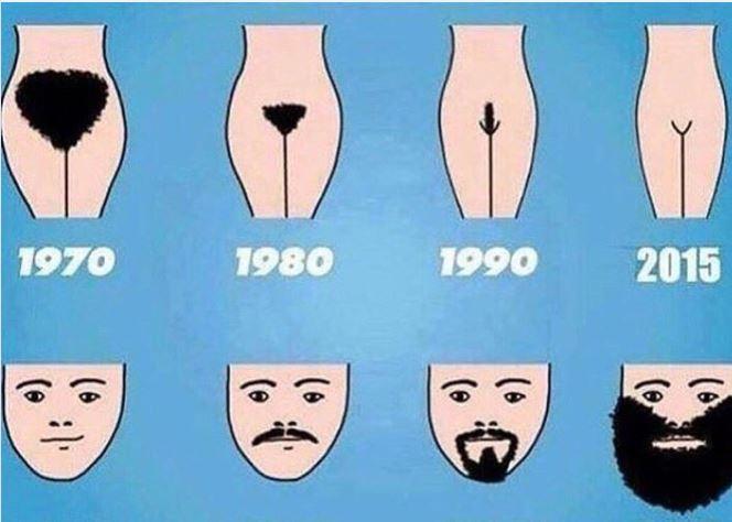 бриться - не привилегия мужчин